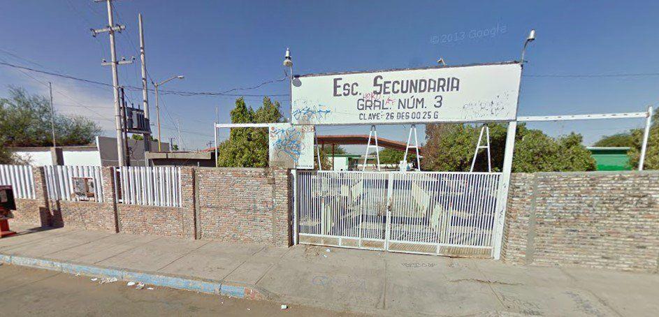 Detienen a asesinos de directora en Sonora - Escuela secundaria San Luis Río Colorado
