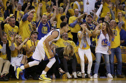 Warriors gana el primer duelo de la final del Oeste - Foto de AP