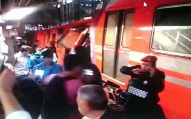 Dan de alta a 3 lesionados de choque en el Metro - Choque en Metro Oceanía