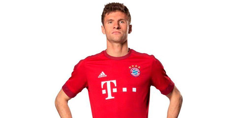 Bayern Munich presenta su nuevo uniforme - Thomas Müller