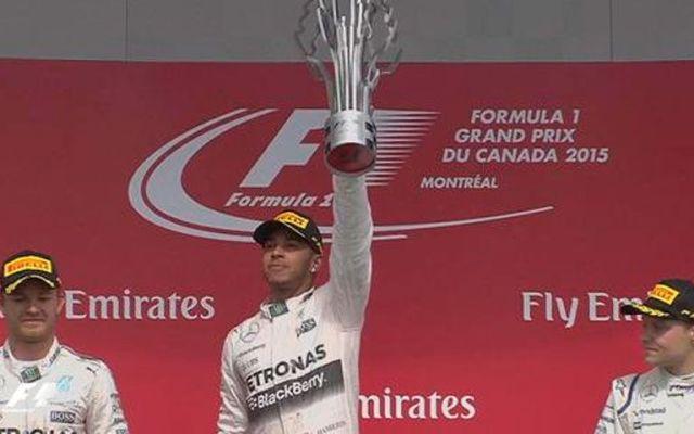 Hamilton gana Gran Premio de Canadá - Foto de @F1