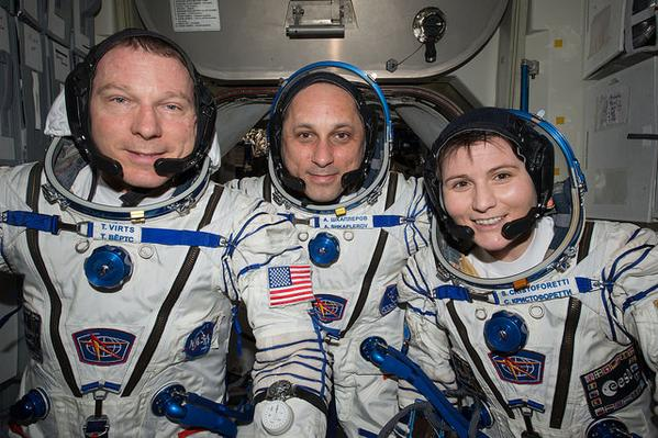Astronautas entrenarán en Sonora para misión a Marte - Foo de @NASA