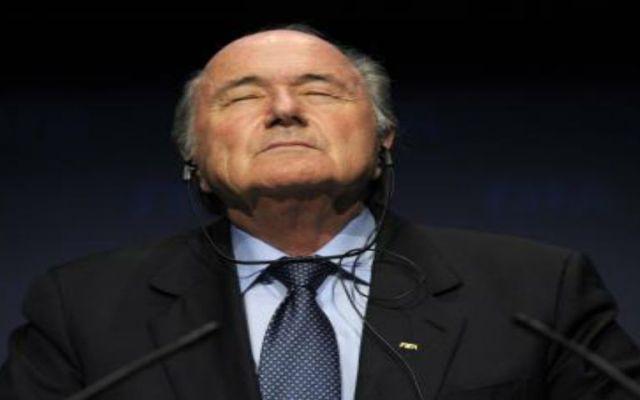 Blatter sale del hospital - Foto de El Financiero.