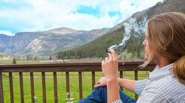 Abren campamento para fumadores de mariguana - Foto de Daily Mail Online