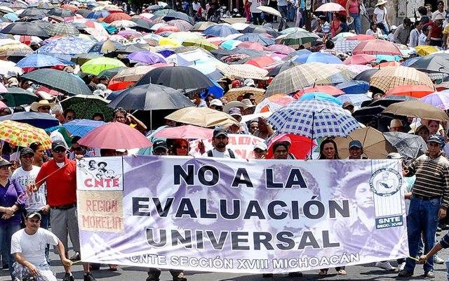 CNTE advierte de boicot a la evaluación de este fin de semana - Foto de Internet