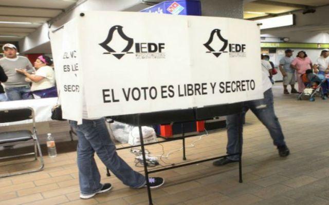 Avance de resultados electorales en el D.F. - En el IEDF, los ciudadanos eligieron a 60 integrantes de la ALDF y 16 jefaturas delegacionales.  Foto de Red Política.