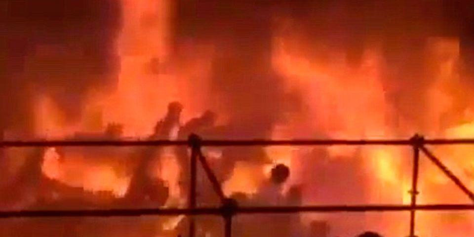 Video: Más de 200 heridos por incendio en Taiwan - Foto de Apple Daily