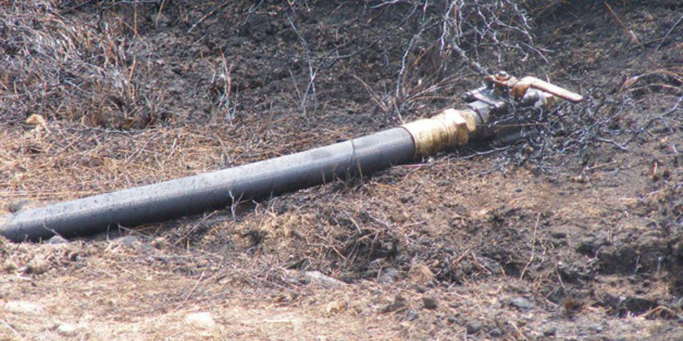 Policía Federal asegura 64 mil litros de hidrocarburos en Tamaulipas - toma clandestina