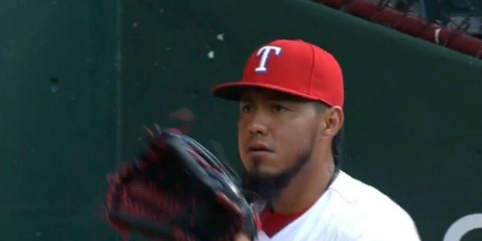 Gran salida de Gallardo, pero se va sin decisión - Foto de Texas Rangers.