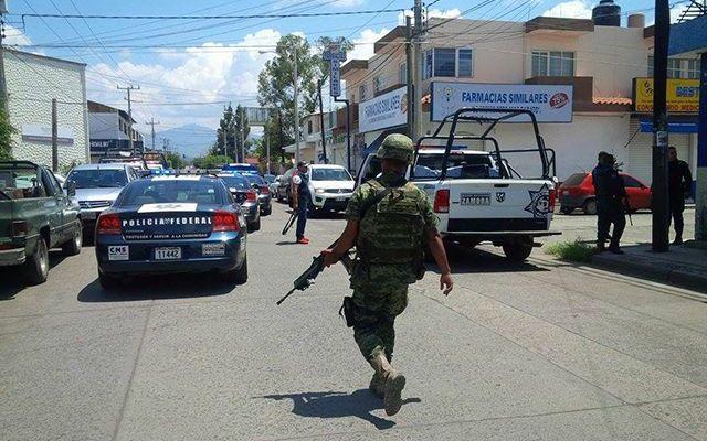 Balacera en Zamora deja un policía herido y un detenido - Foto de La Primera AM