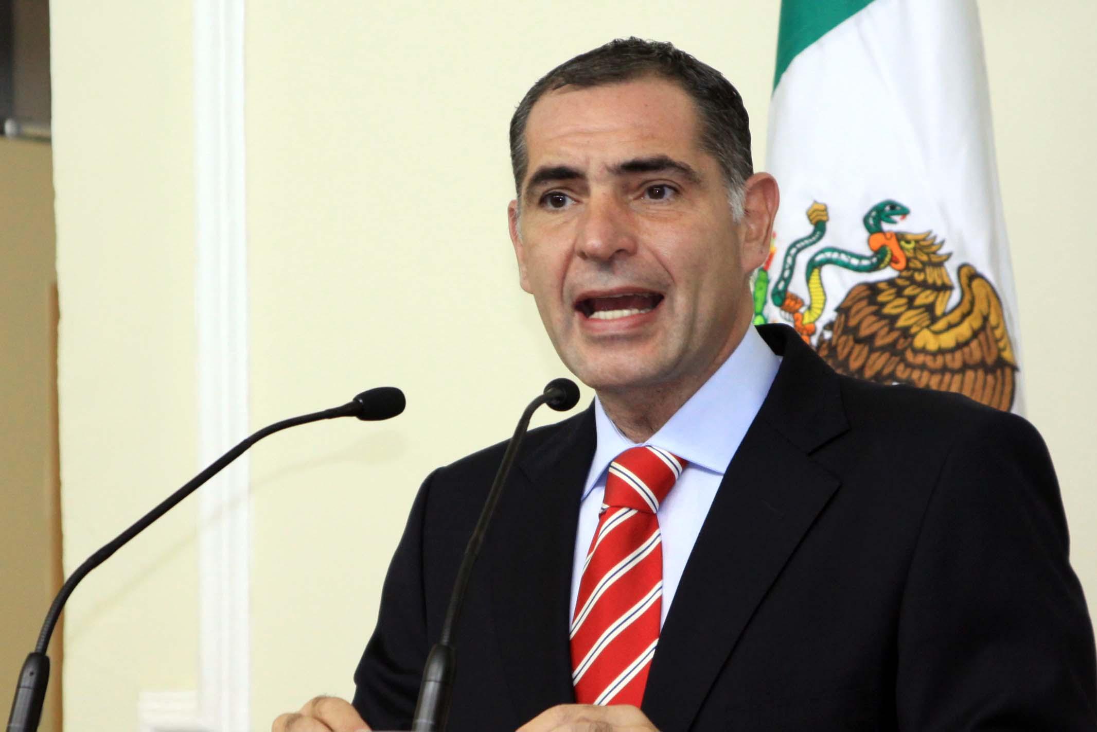 Gabino Cué, gobernador de Oaxaca