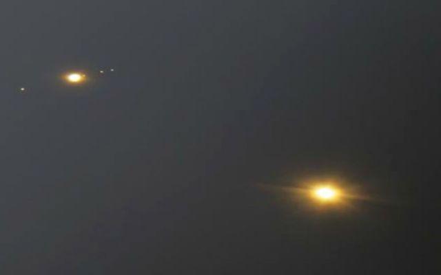 Alineación de Venus y Júpiter con la Tierra - Foto de @ObservingSpace