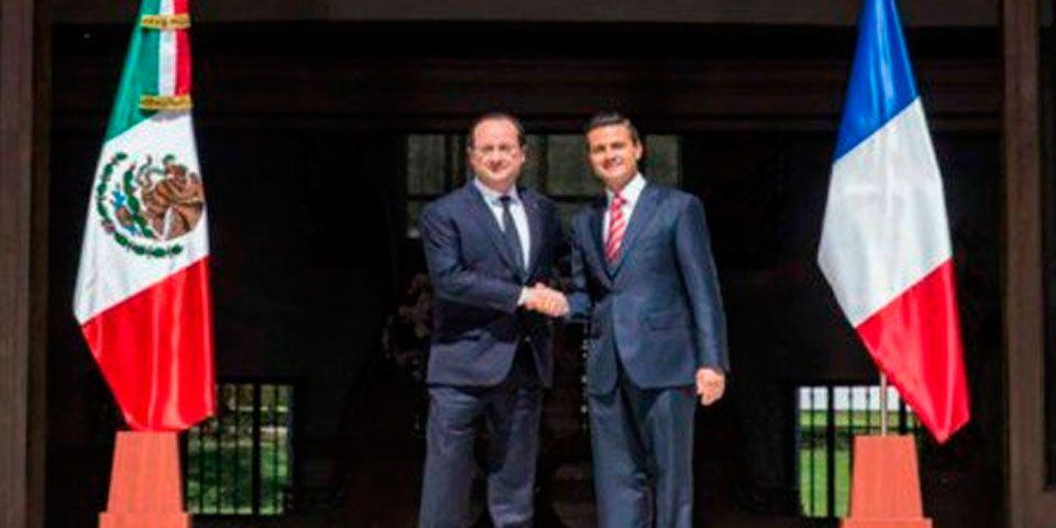 Partidos políticos de Francia rechazan visita de Peña Nieto