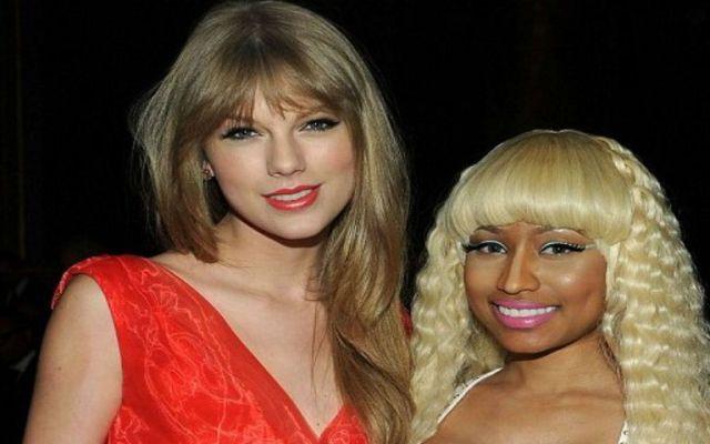 Taylor Swift se disculpa con Nicki Minaj - taylor y nicki