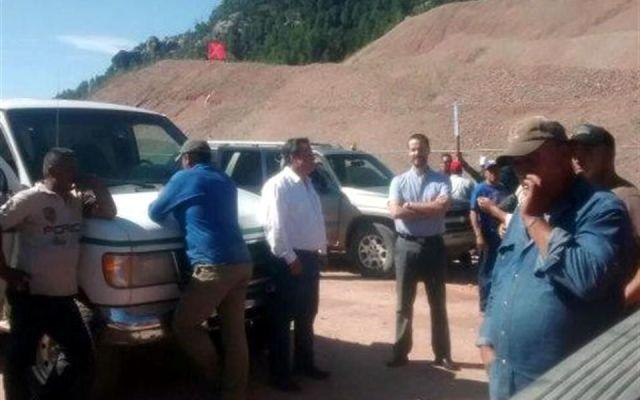 Bloquean mina de Chihuahua - Foto de Reforma