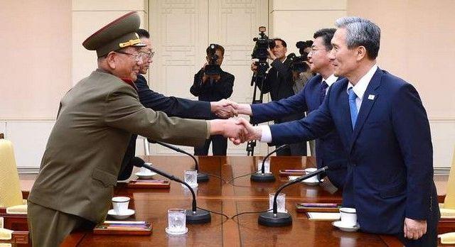 Pyongyang y Seúl llegan a un acuerdo para cesar tensiones - Las dos coreas llegaron a un acuerdo. Foto tomada de Sky News