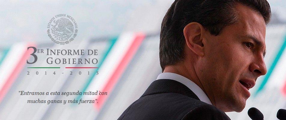EPN presenta su tercer informe por internet - Foto de Presidencia