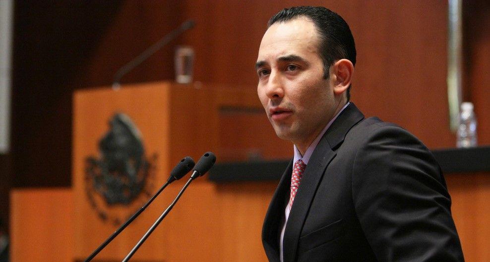 Gil Zuarth es un buen perfil del PAN en el Senado: Anaya - Foto de Senado PAN