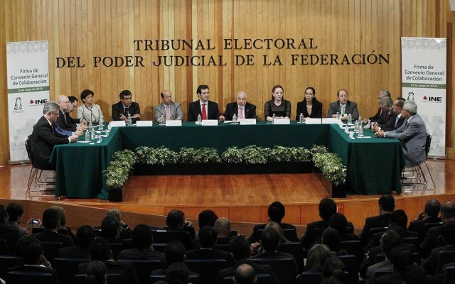 TEPJF valida candidatura de Estefan Garfias para gubernatura de Oaxaca - Foto de Archivo