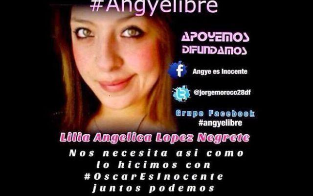 Mancera ofrece ayuda legal y médica a mi hija: padre de Angye - Angye es la única de los cuatro que sigue en la cárcel. Foto de archivo