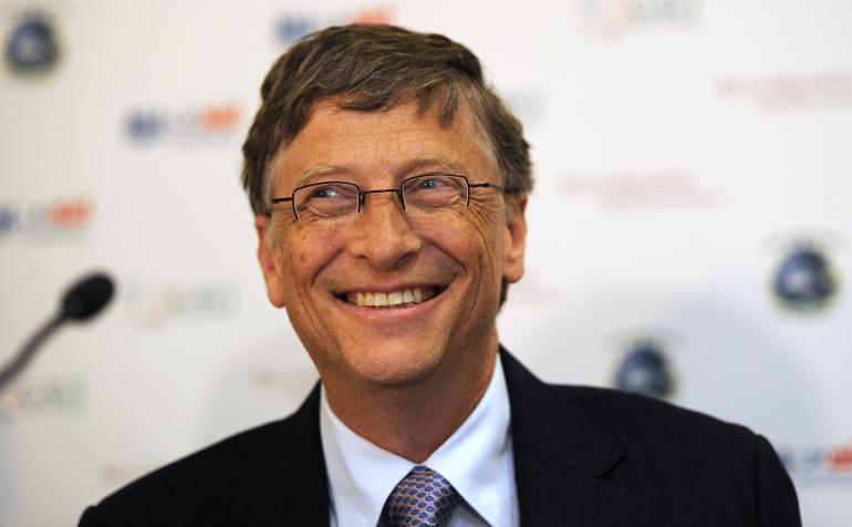 Gates y Ortega se disputan el puesto por el hombre más rico del mundo - Bill Gates. Foto de Archivo