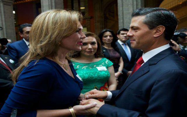 El presidente EPN recibe a Claudia Pavlovich - Foto de Miradas.