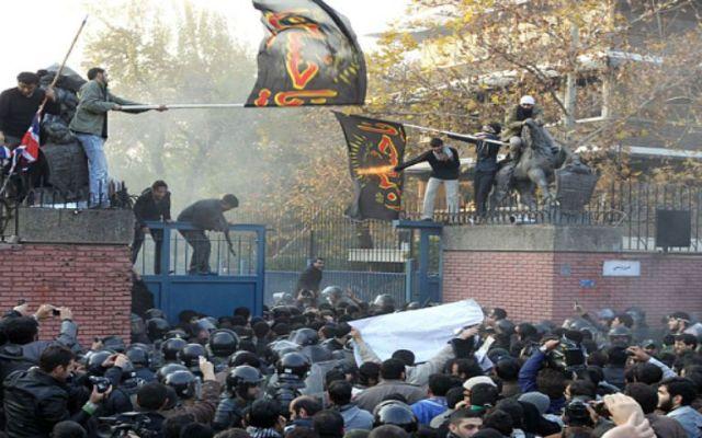 El Reino Unido reabrirá su embajada en Irán - Foto de The Telegraph.