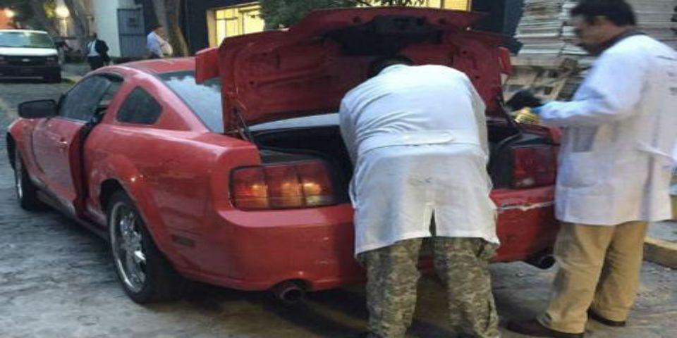 Una mujer condujo el Mustang tras homicidio en la Narvarte - Foto de Milenio.