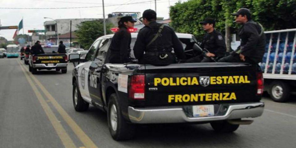Doce migrantes centroamericanos heridos por choque con patrulla - Foto de Unión Chiapas