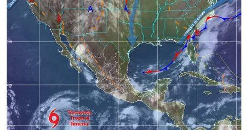 Habrá lluvias en gran parte del país