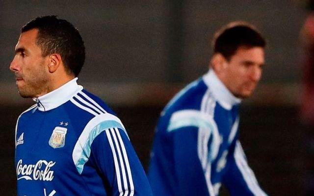Messi y Tevez, de inicio contra México - Foto de Internet