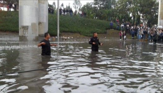 Continuarán lluvias en el Valle de México