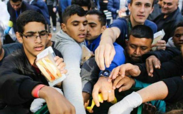 Austria y Alemania abren sus fronteras a refugiados - Foto de AP