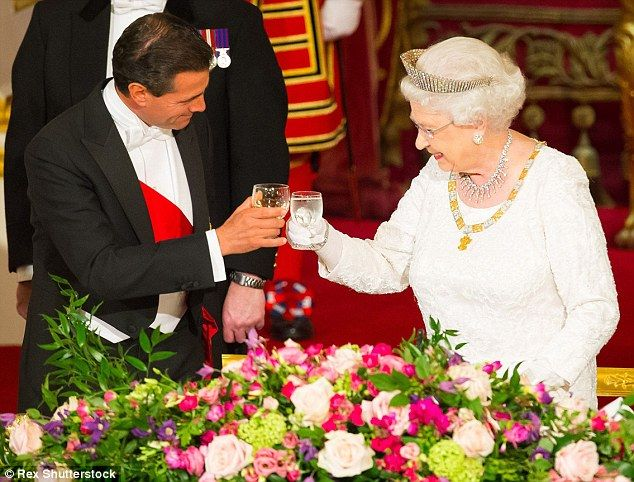 Chef revela la dieta de la reina Isabel II - Foto de Daily Mail