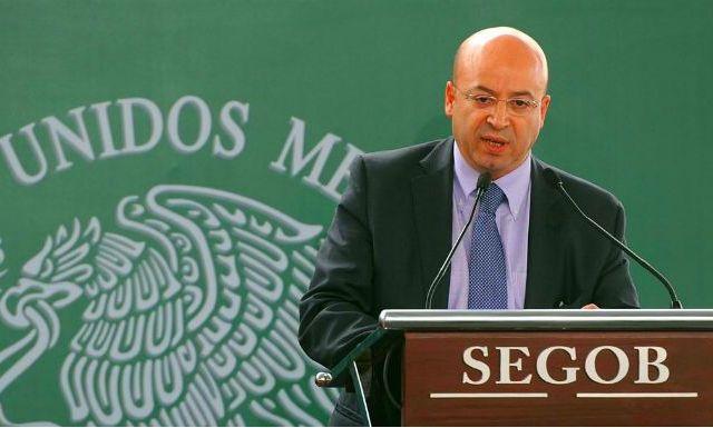 Hay pruebas suficientes para implicar a El Gil: Renato Sales - Renato Sales Heredia, comisionado nacional de Seguridad