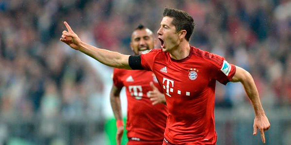 Lewandowski es el mejor goleador de las grandes ligas europeas. Foto de FIFA