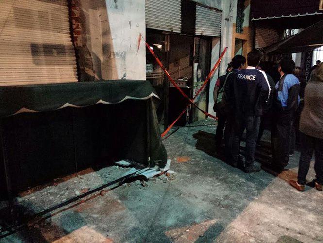Fuga de gas provoca explosión en la colonia Roma - Foto Carlos Arteaga