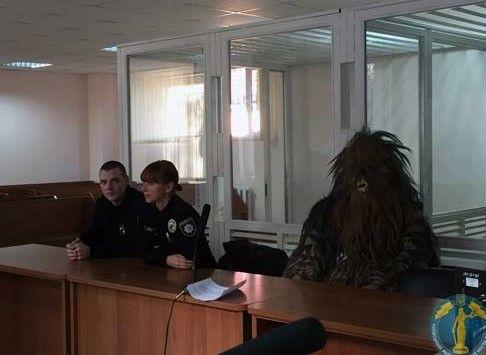 Chewbacca en la Corte. Foto de Shaunwalker7