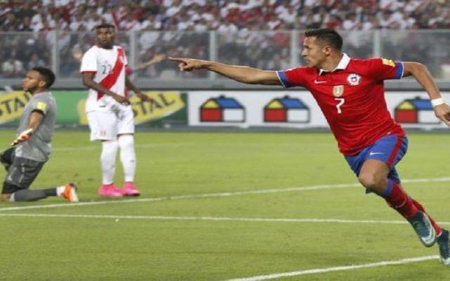 Chile gana a Perú en el 'Clásico del Pacífico'