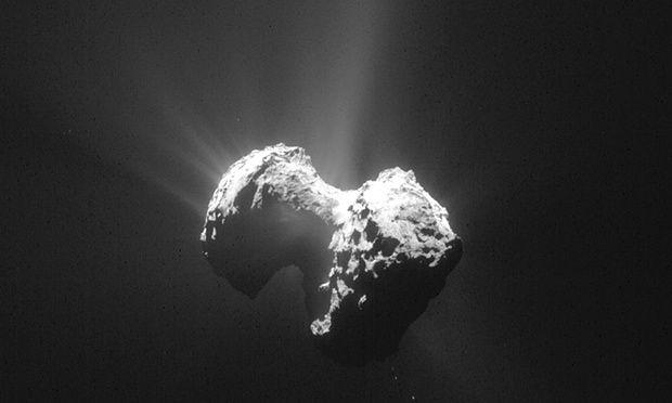 Encuentran oxígeno en el cometa 67P - Foto de AP