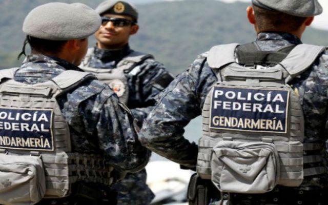 Llegan los primeros 300 elementos de la Gendarmería a Michoacán - Foto de Archivo