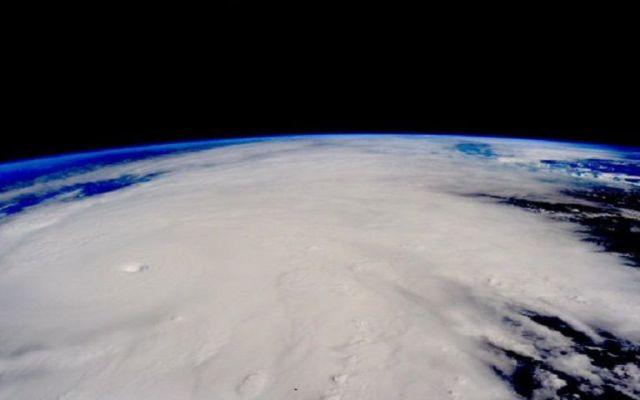 Cambio climático provocó el huracán Patricia - 8. Cómo va el Huracán Patricia. Foto de NASA