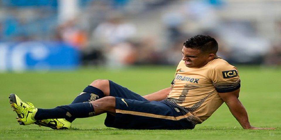 Pumas pierde a Javier Cortés por el resto del torneo