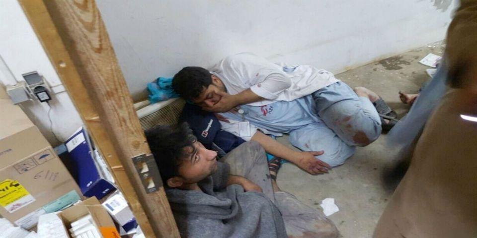 Bombardeo a hospital de MSF en Afganistán deja al menos 19 muertos - Foto de AP