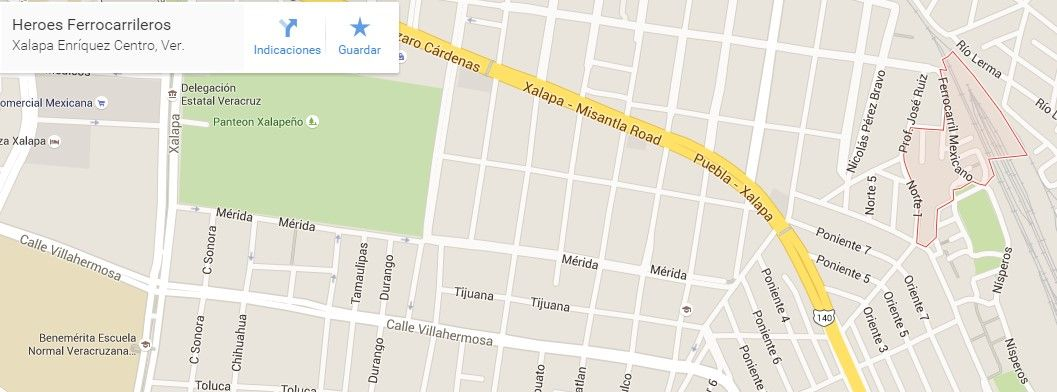 Colonia Héroes Ferrocarrileros - Foto de Google Maps