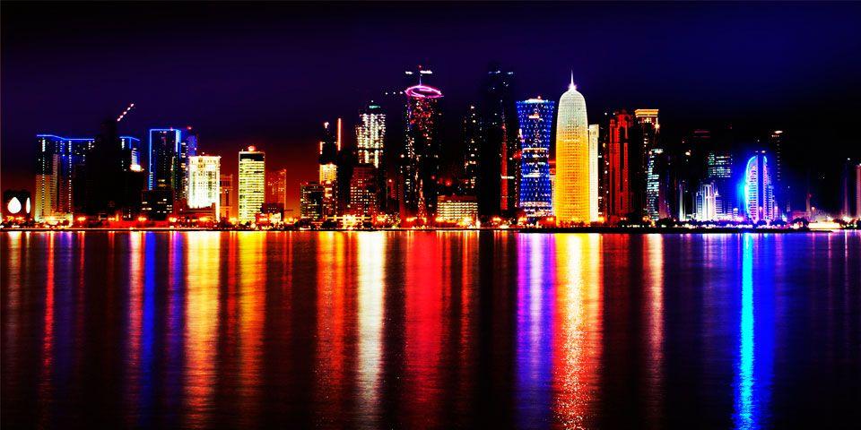 Los países con las tasas de impuestos más bajas en el mundo - Doha, Qatar. Foto de Internet