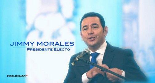 Jimmy Morales, de comediante a presidente de Guatemala - Jimmy Morales.// Foto de Guatevisión