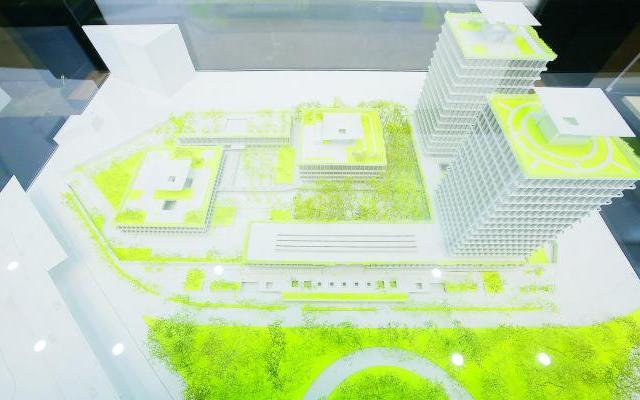 Sobran niveles en el proyecto de construcción de la sede del INE - Foto de El Universal