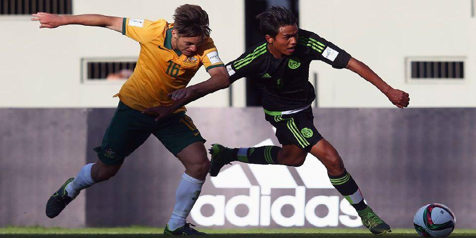 México iguala con Australia - Foto de FIFA