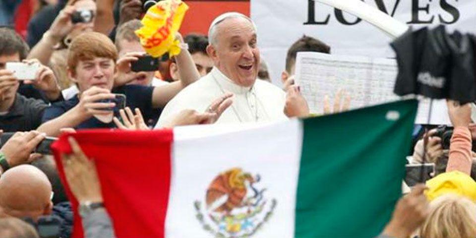 Definirán en México detalles de visita del papa Francisco - Papa francisco  en méxico bfc3bd330c9